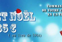 promotions noël christmas sales / cadeaux de Noël, christmas gift