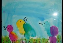 Kindergarten art / by Shelly Russell