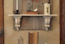 mosdóállványok régi bútorokból