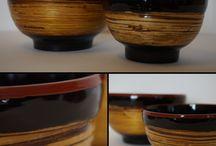 Artisanat birman <3 / Issue de la tradition birmane de travail de laque sur bambou, ces objets sont des pièces artisanales, originales et donc uniques :)