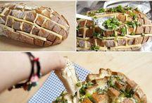 Küchen-Chaos / Meine unvegane, Kalorien-ignorierende und fast Avocado-freie Rezepte-Pinnwand für Herzhaftes. Viel Spaß beim Stöbern.