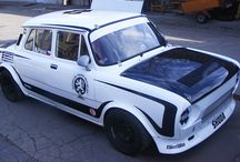Martin Pleva - hillclimb (Škoda 100) / Design and wrap.