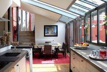 Cuisine / Pièce important de la maison, à décorer et à agencer pour optimiser l'espace