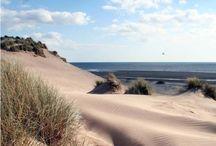 Wales coastal path / Views of the Wales coastal path