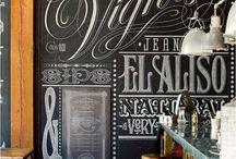 Chalkboard art / by Courtney Clay