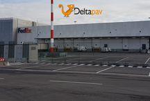 Cargo City dell'Aeroporto di Milano #Malpensa: le realizzazioni #Deltapav / Cargo City dell'Aeroporto di Milano  #Malpensa: la #pavimentazione industriale è #Deltapav #pavimentazioneindustriale