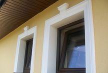 Nasze realizacje / Nasze realizacje zamontowane na budynkach. Zobacz jak wygląda nasza sztukateria na gotowym budynku.