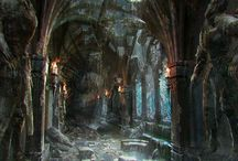 Dark Ruins - UF dystopian series