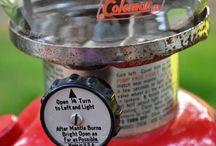 Coleman lantern and stove