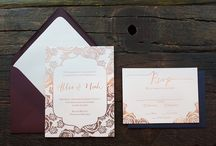 Wedding Invitations / View our collections and custom wedding invitations.