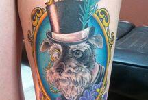 Tattoo chiens