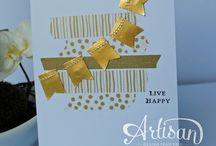 Card Making - Sewn