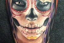 Skull sugar girl