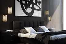 Tratti Nero / Every room needs a strong dash of black and white artwork.