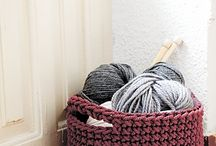 crochet: containers