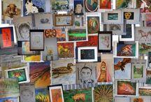 Ateliervera / Binnen Ateliervera verzorg ik teken- en schilderworkshops voor kinderenfeestjes, maar ook voor volwassenen en bedrijven. Kijk hiervoor op www.ateliervera.nl Ook schilder en teken ik in opdracht en maak ik muurschilderingen buiten en binnenshuis, o.a. Babykamer.