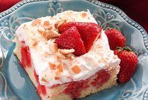 Poke cakes