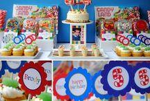 birthday party ideas  / by Courtney Richard