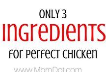 Chicken / Recipes using chicken