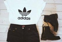 adidas / some clothes and shoes