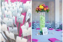 Fuchsia Wedding / Fuchsia wedding ceremony and reception ideas and details from real Clayton on the Park weddings. Modern Scottsdale wedding venue in the heart of Downtown Scottsdale. #wedding #color #pink #fuchsia #ideas #planning #decor #modern #wedding