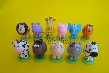 Fimo - Polymer Clay animals