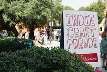 Indie Craft Parade / Check out what's going on in our annual Indie Craft Parade! 2016's parade is in Greenville, South Carolina, on September 17th and 18th.