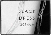 BLACK DRESS / lisette black dress