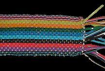 scoubidou weaving
