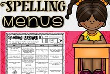 Spelling / Need some spelling activities, resources, FREE downloads, and more for your preschool, Kindergarten, 1st, 2nd, 3rd, 4th, 5th, or 6th grade classroom or homeschool students? Then you've come to the right place! Stick around and browse awhile.