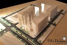 Our works / O.G-Design / architectural models / by Oni Ro