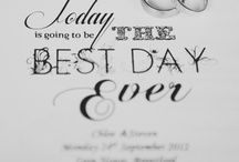 Wedding Stationery!!!