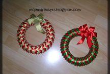 Boże Narodzenie / Ozdoby i dekoracje na Boże Narodzenie