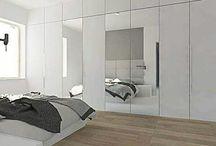 Projekt sypialni / Projekty sypialni w domach  i mieszkaniach #projekt #sypialni #słupca #swarzedz