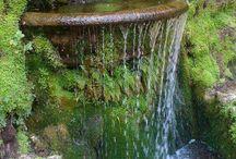 Wasserfall für den Garten
