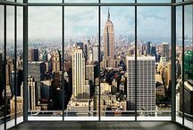Fotobehang New York / Diverse maten fotobehang met als thema New York
