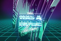 Synthwave Art