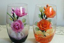 bunga gelas