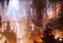 Citadelles souterraines / Citadelles imaginaires pour l'inspiration et la rêverie