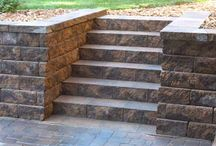 Steps and Stairs / Whether it's one step or a flight of 25 stairs, the team at Groundworks has the experience to build steps and stairs for your landscape that will withstand the test of time and continue to be safe and reliable for years to come.