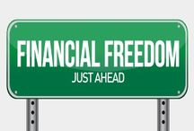 Financial freedom /  How to be debt free and have financial freedom for life.  #financialfreedom #personalfinance