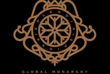 Global Monarchy / My Luxury Brand. Brand image made by me with Pedro Marques.