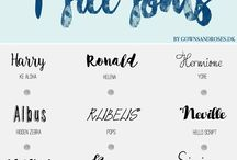 Helpful Resources / blogging, helpful, resources, fonts, types, for bloggers, free fonts, free,