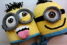 Knit or crocheted boys hats / Hats