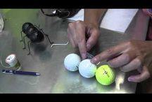 Art Golf Balls