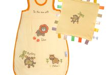 Jungle Collection / Our Jungle collection features adorable embroidered appliqué zoo animals on bath ponchos, sleeping bags and baby comforter - simply gorgeous for all babies and toddlers!