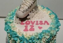 Iceskating cake