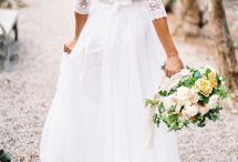 Bryllup kjole - blonde bohem