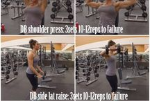 Work Out Ideas - Upper Body