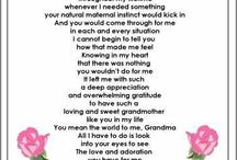 poem for our grandma
